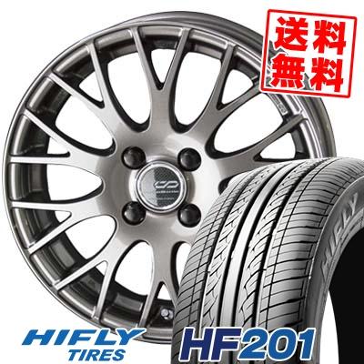 175/55R15 77T HIFLY ハイフライ HF201 HF201 ENKEI CREATIVE DIRECTION CDM2 エンケイ クリエイティブ ディレクション CD-M2 サマータイヤホイール4本セット