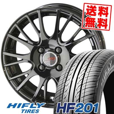 185/65R14 86H HIFLY ハイフライ HF201 HF201 ENKEI CREATIVE DIRECTION CDS1 エンケイ クリエイティブ ディレクション CD-S1 サマータイヤホイール4本セット