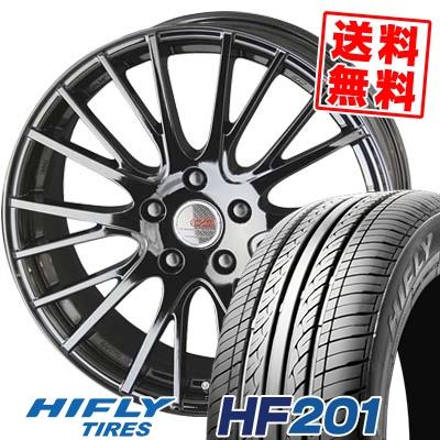 215/60R15 HIFLY ハイフライ HF201 HF201 ENKEI CREATIVE DIRECTION CDS1 エンケイ クリエイティブ ディレクション CD-S1 サマータイヤホイール4本セット