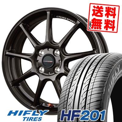 165/60R14 75H HIFLY ハイフライ HF201 エイチエフ ニイマルイチ CROSS SPEED HYPER EDITION RS9 クロススピード ハイパーエディション RS9 サマータイヤホイール4本セット