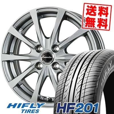 155/70R13 75T HIFLY ハイフライ HF201 HF201 Exceeder E03 エクシーダー E03 サマータイヤホイール4本セット