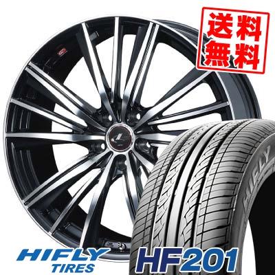 195/65R15 HIFLY ハイフライ HF201 HF201 weds LEONIS FY ウェッズ レオニス FY サマータイヤホイール4本セット