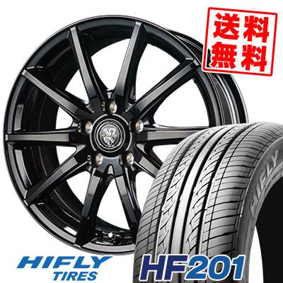 215/65R15 96H HIFLY ハイフライ HF201 エイチエフ ニイマルイチ TRG-GB10 TRG GB10 サマータイヤホイール4本セット