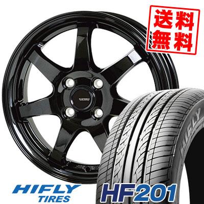 165/65R13 77T HIFLY ハイフライ HF201 エイチエフ ニイマルイチ G.speed G-03 Gスピード G-03 サマータイヤホイール4本セット