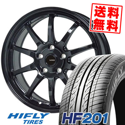 205/60R16 92V HIFLY ハイフライ HF201 エイチエフ ニイマルイチ G.speed G-04 Gスピード G-04 サマータイヤホイール4本セット