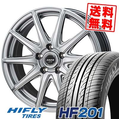 205/55R16 91V HIFLY ハイフライ HF201 エイチエフ ニイマルイチ ZACK JP-710 ザック ジェイピー710 サマータイヤホイール4本セット