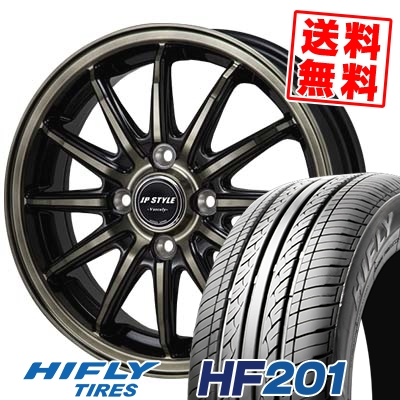 145/65R15 72T HIFLY ハイフライ HF201 HF201 JP STYLE Vercely JPスタイル バークレー サマータイヤホイール4本セット