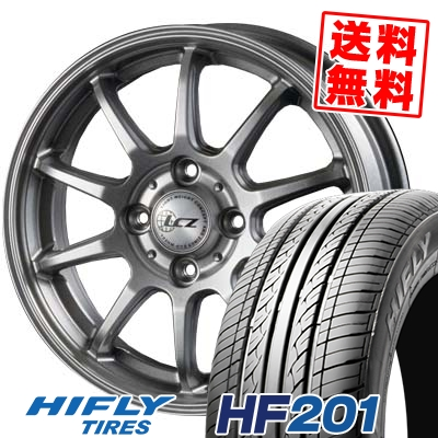 155/65R13 73T HIFLY ハイフライ HF201 エイチエフ ニイマルイチ LCZ010 LCZ010 サマータイヤホイール4本セット