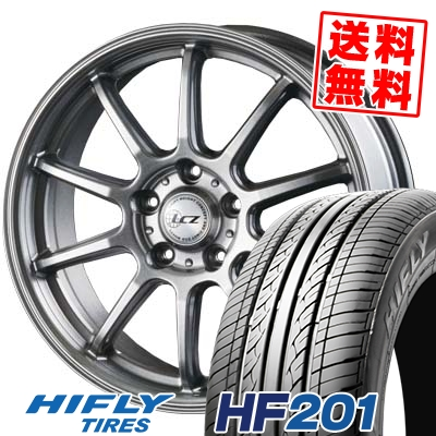 205/70R15 96H HIFLY ハイフライ HF201 HF201 LCZ010 LCZ010 サマータイヤホイール4本セット