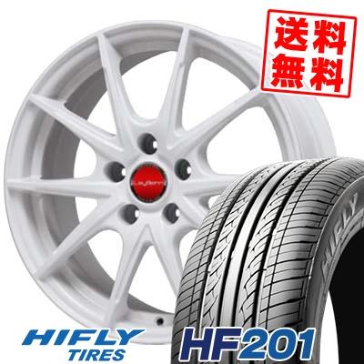 195/65R15 91V HIFLY ハイフライ HF201 エイチエフ ニイマルイチ LeyBahn WGS レイバーン WGS サマータイヤホイール4本セット