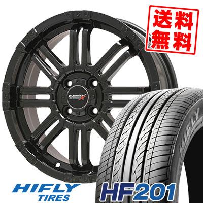 165/55R14 72H HIFLY ハイフライ HF201 エイチエフ ニイマルイチ B-MUD X Bマッド エックス サマータイヤホイール4本セット