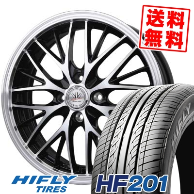 165/55R14 72H HIFLY ハイフライ HF201 HF201 BADX LOXARNY SPORT MW-8 バドックス ロクサーニスポーツ MW-8 サマータイヤホイール4本セット
