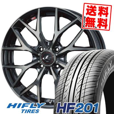 145/65R15 72T HIFLY ハイフライ HF201 HF201 weds LEONIS MX ウェッズ レオニス MX サマータイヤホイール4本セット【取付対象】