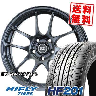 165/60R15 77H HIFLY ハイフライ HF201 HF201 ENKEI PerformanceLine PF-01 エンケイ パフォーマンスライン PF01 サマータイヤホイール4本セット