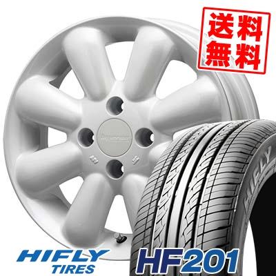 165/60R14 HIFLY ハイフライ HF201 エイチエフ ニイマルイチ HYPERION PINO+(PLUS) ハイペリオン ピノ+(プラス) サマータイヤホイール4本セット
