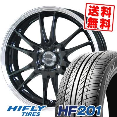 175/65R14 HIFLY ハイフライ HF201 HF201 CROSS SPEED PREMIUM 6 Light クロススピード プレミアム 6 ライト サマータイヤホイール4本セット