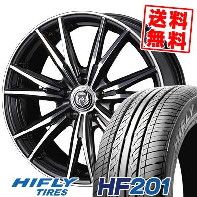 215/65R16 98H HIFLY ハイフライ HF201 エイチエフ ニイマルイチ WEDS RIZLEY DK ウェッズ ライツレーDK サマータイヤホイール4本セット