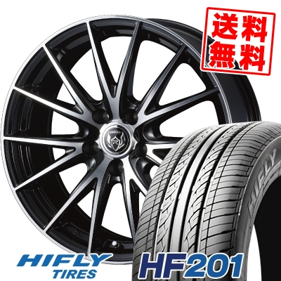 205/60R15 91V HIFLY ハイフライ HF201 エイチエフ ニイマルイチ WEDS RIZLEY VS ウェッズ ライツレー VS サマータイヤホイール4本セット【取付対象】