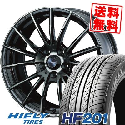 205/55R16 91V HIFLY ハイフライ HF201 エイチエフ ニイマルイチ WedsSport SA-35R ウェッズスポーツ SA-35R サマータイヤホイール4本セット