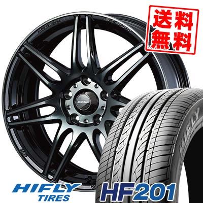 215/65R16 98H HIFLY ハイフライ HF201 エイチエフ ニイマルイチ wedsSport SA-77R ウェッズスポーツ SA-77R サマータイヤホイール4本セット