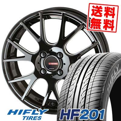 145/65R15 72T HIFLY ハイフライ HF201 エイチエフ ニイマルイチ CIRCLAR RM-7 サーキュラー RM-7 サマータイヤホイール4本セット
