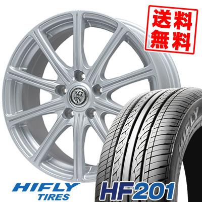 205/65R15 94V HIFLY ハイフライ HF201 エイチエフ ニイマルイチ TRG-SS10 TRG SS10 サマータイヤホイール4本セット