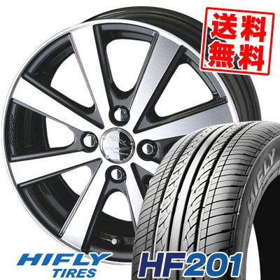 155/70R13 75T HIFLY ハイフライ HF201 HF201 SMACK VIR スマック VI-R サマータイヤホイール4本セット