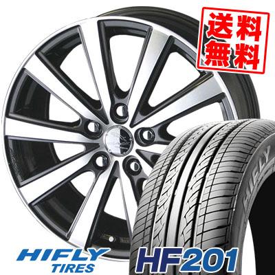 205/70R15 96H HIFLY ハイフライ HF201 HF201 SMACK VIR スマック VI-R サマータイヤホイール4本セット
