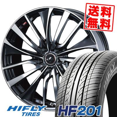 215/70R15 98H HIFLY ハイフライ HF201 HF201 weds LEONIS VT ウエッズ レオニス VT サマータイヤホイール4本セット【取付対象】
