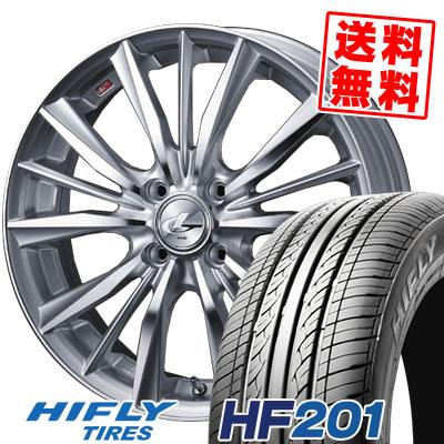 185/55R15 82V HIFLY ハイフライ HF201 HF201 weds LEONIS VX ウエッズ レオニス VX サマータイヤホイール4本セット
