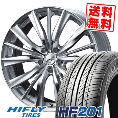 205/70R15 96H HIFLY ハイフライ HF201 HF201 weds LEONIS VX ウエッズ レオニス VX サマータイヤホイール4本セット【取付対象】