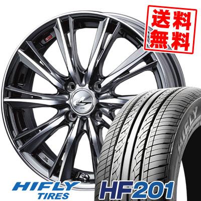 165/55R14 72H HIFLY ハイフライ HF201 HF201 weds LEONIS WX ウエッズ レオニス WX サマータイヤホイール4本セット