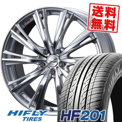205/70R15 96H HIFLY ハイフライ HF201 HF201 weds LEONIS WX ウエッズ レオニス WX サマータイヤホイール4本セット【取付対象】