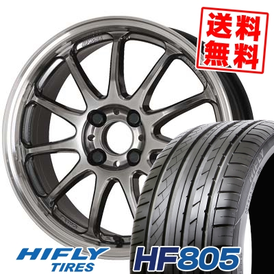 205/45R16 87W XL HIFLY ハイフライ HF805 HF805 WORK EMOTION 11R ワーク エモーション 11R サマータイヤホイール4本セット