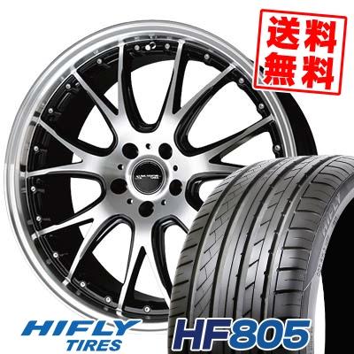 205/55R17 95W XL HIFLY ハイフライ HF805 エイチエフ ハチマルゴ Precious AST M2 プレシャス アスト M2 サマータイヤホイール4本セット