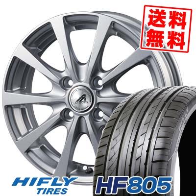 205/55R15 88V HIFLY ハイフライ HF805 エイチエフ ハチマルゴ AZ SPORTS EX10 AZスポーツ EX10 サマータイヤホイール4本セット