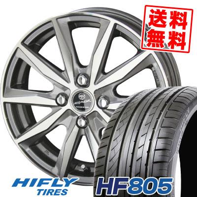 205/55R15 88V HIFLY ハイフライ HF805 HF805 SMACK BASALT スマック バサルト サマータイヤホイール4本セット