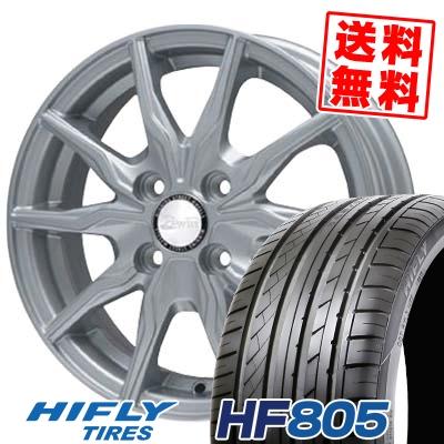165/50R15 HIFLY ハイフライ HF805 エイチエフ ハチマルゴ B-WIN KRX B-WIN KRX サマータイヤホイール4本セット