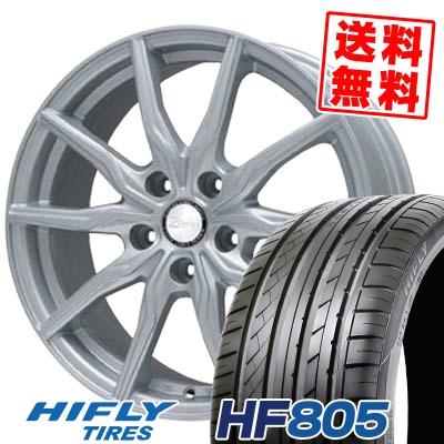 225/40R18 HIFLY ハイフライ HF805 エイチエフ ハチマルゴ B-WIN KRX B-WIN KRX サマータイヤホイール4本セット
