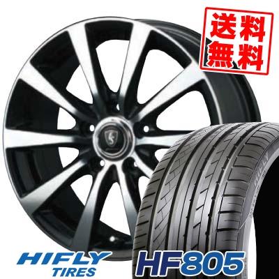 205/55R16 94W XL HIFLY ハイフライ HF805 HF805 EuroSpeed BL10 ユーロスピード BL10 サマータイヤホイール4本セット
