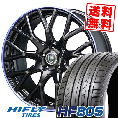 215/45R18 93W XL HIFLY ハイフライ HF805 エイチエフ ハチマルゴ Bahnsport Type902 バーンシュポルト タイプ902 サマータイヤホイール4本セット