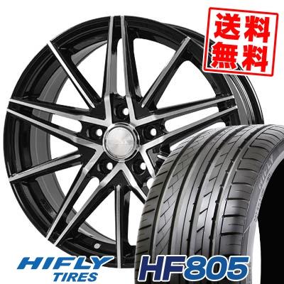215/45R17 91W XL HIFLY ハイフライ HF805 エイチエフ ハチマルゴ BLONKS TB01 ブロンクス TB01 サマータイヤホイール4本セット