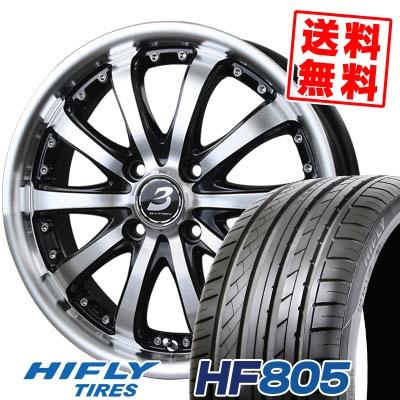 195/45R15 82V XL HIFLY ハイフライ HF805 HF805 BADX LOXARNY EX BYRON STINGER バドックス ロクサーニ EX バイロンスティンガー サマータイヤホイール4本セット【取付対象】