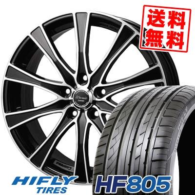 205/55R17 95W XL HIFLY ハイフライ HF805 HF805 Warwic Carozza ワーウィック カロッツァ サマータイヤホイール4本セット