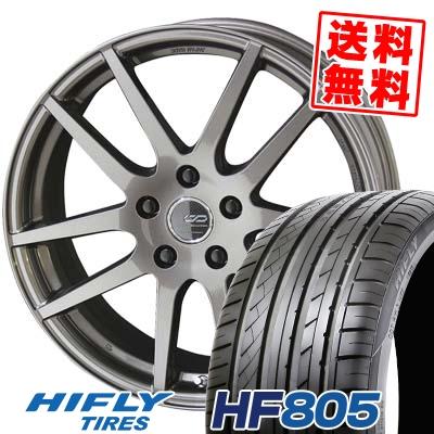 225/50R17 HIFLY ハイフライ HF805 HF805 ENKEI CREATIVE DIRECTION CDR2 エンケイ クリエイティブ ディレクション CD-R2 サマータイヤホイール4本セット