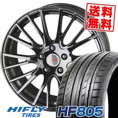 205/50R17 HIFLY ハイフライ HF805 HF805 ENKEI CREATIVE DIRECTION CDS1 エンケイ クリエイティブ ディレクション CD-S1 サマータイヤホイール4本セット