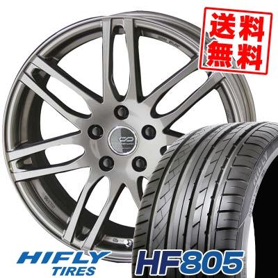 225/35R18 87W XL HIFLY ハイフライ HF805 HF805 ENKEI CREATIVE DIRECTION CDS2 エンケイ クリエイティブ ディレクション CD-S2 サマータイヤホイール4本セット