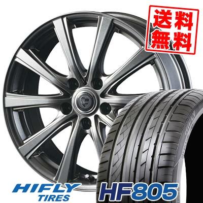 215/45R18 93W XL HIFLY ハイフライ HF805 エイチエフ ハチマルゴ CLAIRE DG10 クレール DG10 サマータイヤホイール4本セット