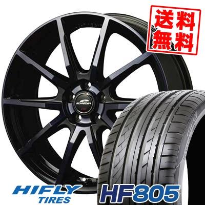 215/55R16 97V XL HIFLY ハイフライ HF805 HF805 SCHNEIDER DR-01 シュナイダー DR-01 サマータイヤホイール4本セット