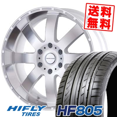 225/35R20 90W XL HIFLY ハイフライ HF805 エイチエフ ハチマルゴ Reverson DR8 レベルソン DR8 サマータイヤホイール4本セット for 200系ハイエース